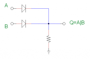or gate with diode