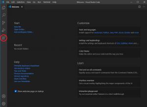 Visual Studio Code Python extension